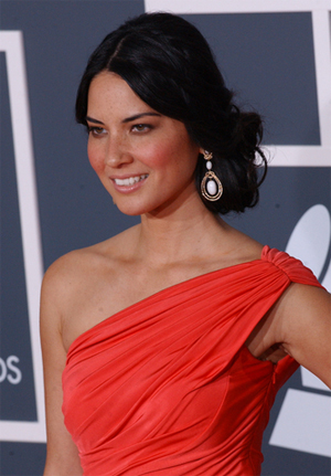 Olivia Munn Formal Hairstyle – Prom hair ideas for Girls ...
